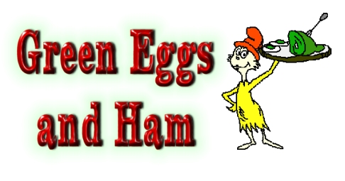 Babyboomer Flashback: Green Eggs and Ham . . . Dr. Seuss